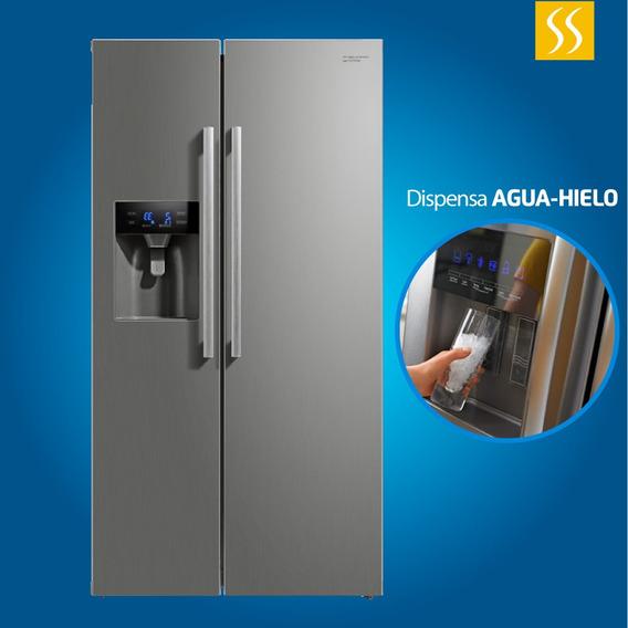 Refrigeradora Side By Side Panel Touch Dispensador Agua Hiel