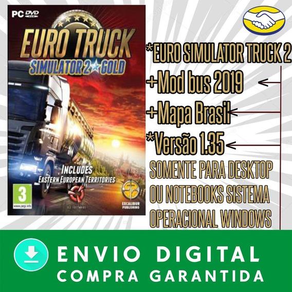 Euro Truck Simulator 2 Mod Bus 2020