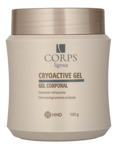 Imagen 1 de 10 de Corps Cryoactive Gel Reductivo Hnd, Define, Reafirma Reduce.