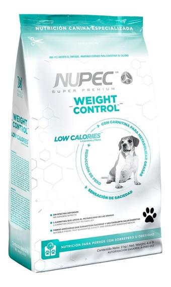 Nupec Weight Control 2kg Alimento Control De Peso