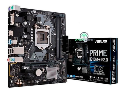 Placa Motherboard Asus H310m-e R2.0 Lga1151 8va 9na Gener