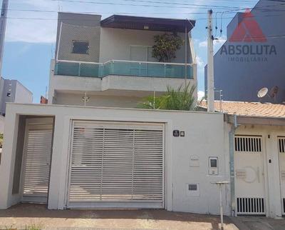 Casa Com 3 Dormitórios À Venda, 178 M² - Jardim Boer I - Americana/sp - Ca2334