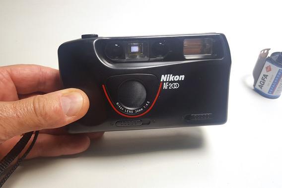 Camera Nikon Af200 Baixei!