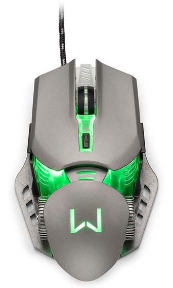 Warrior Keon Mouse Gamer 3200 Dpi Grafite - Multilaser