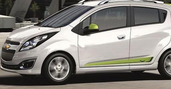 Sticker Lateral Chevrolet Spark Byte