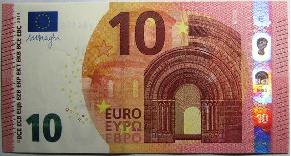 España Billete 10 Euros Pick 21v Año 2014 Unc Sin Circular