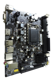 Placa Mãe B75 Ddr3 Lga 1155 Hdmi I3 I5 I7 Usb 3.0 Intel