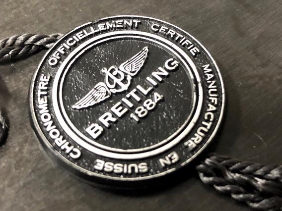 Relógio Breitling Etiqueta 100% Original Mesmo Ótimo Estado