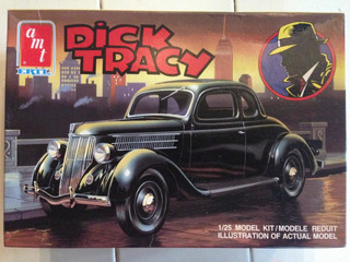 Kit Plastimodelismo Carro Dick Tracy Ford Coupe 1/25