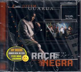Cd Raça Negra Canta Jovem Guarda Ao Vivo - Original Lacrado!