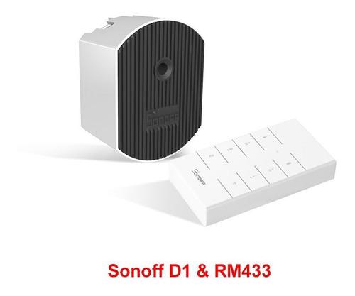 Interruptor Inteligente De Atenuación Itead Sonoff D1 Wifi 4