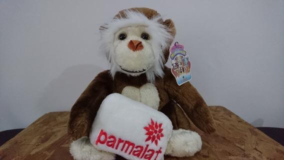 Pelúcia Macaco Parmalat Com Etiqueta
