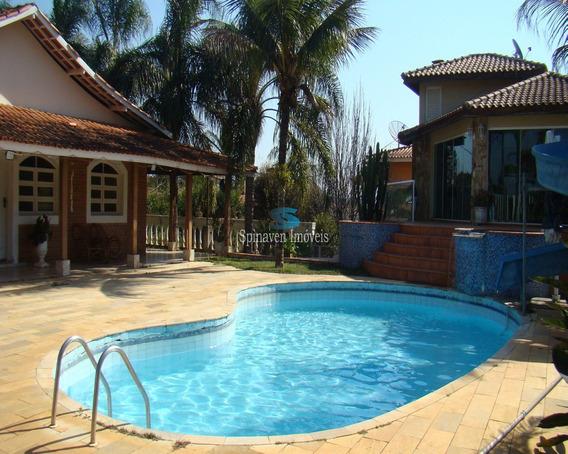 Casa Na Represa Em Condominio Fechado Piracaia - Sp - Co00230 - 4799035
