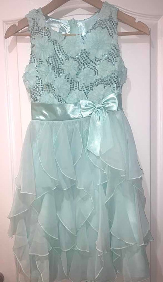Vestido Fiesta Nena Talle 12 Importado American Princess