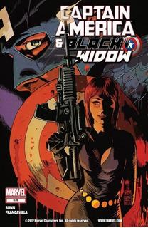 Captain America & Black Widow #636-640 Arco (2012) Marvel
