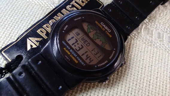 Relógio Casio W-600 Hora Mundi - Liquidação De Janeiro