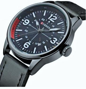 Relógio Masculino Curren 8215 Analógico Frete Grátis