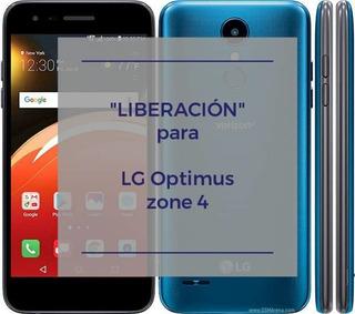 Liberar Lg Optimus Zone 4