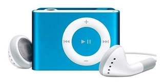 Reproductor Mp3 Micro Sd Tipo Shuffle Portable Audio 3.5mm