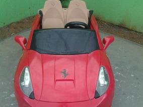 Ferrari Elétrica - Semi Nova