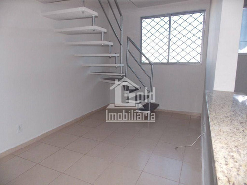Cobertura Com 2 Dormitórios, 124 M² - Venda Por R$ 320.000,00 Ou Aluguel Por R$ 900,00/mês - Jardim Palma Travassos - Ribeirão Preto/sp - Co0001