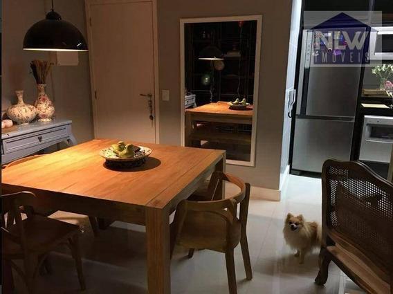 Apartamento Com 2 Dormitórios À Venda, 68 M² Por R$ 550.000 - Tatuapé - São Paulo/sp - Ap1317