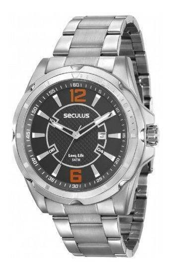 Relógio Masculino Seculus Barato Garantia Original Nfe