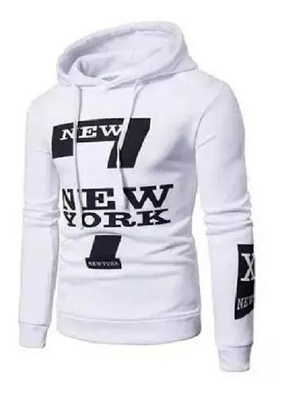 Conjunto Calça De Moletom + Blusa Moletom Canguru New York