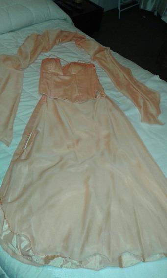 Vestido De Madrina De Gasa