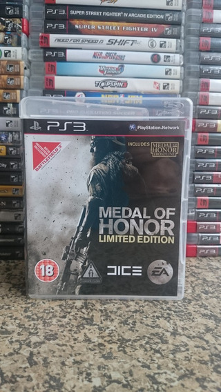 Medal Of Honor Limited Edition Ps3 Midia Fisica-frete R$10