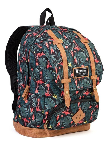 Mochila Xtrem Straps Tropical Night Temp.2020 Moda Diseños