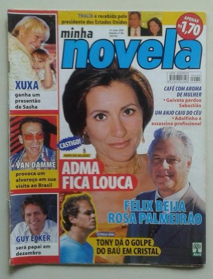 Minha Novela Nº 89 2001 Porto Milagres Thalía Xuxa Van Damme