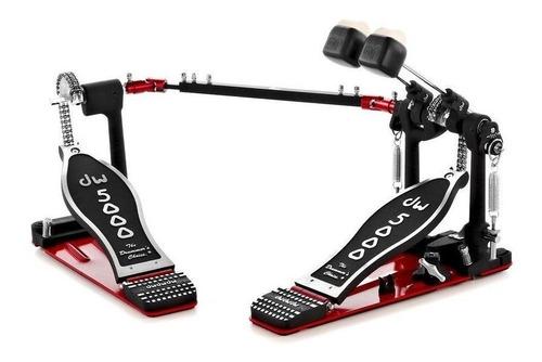 Pedal De Bombo Doble Dw Cp-5002 Ad4bateria Doble Mazo