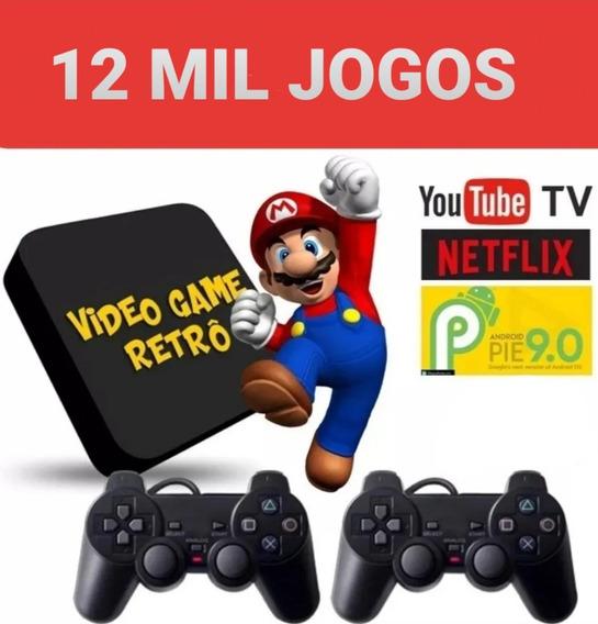 Vídeo Game Retro - Retro Box Com 7.100 Games ( Só Os Top)