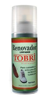 Renovador Limpiador Para Gamuza Nobuck Spray Liquido Tobri