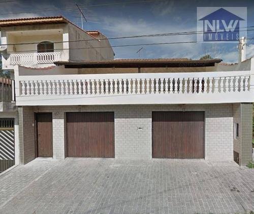 Imagem 1 de 20 de Casa Com 3 Dormitórios À Venda, 200 M² Por R$ 595.000 - Vila Belmiro - Ribeirão Pires/sp - Ca0050