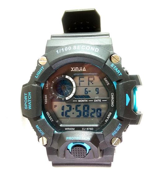Relógio Militar A Prova D´água Xinjia Modelo Esportivo Top!