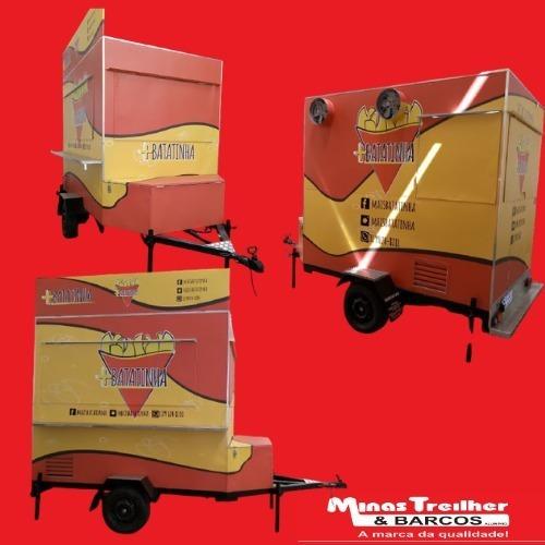 Treilher Para Batata- Fábrica De Trailler (sob Encomenda)