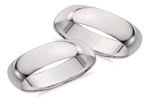 Par Argollas De Matrimonio Plata Sterling .925 Envio Gratis