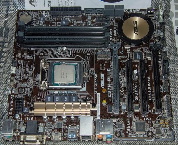 Intel Core I7 4790k (delid) + Asus Z97m Plus/br