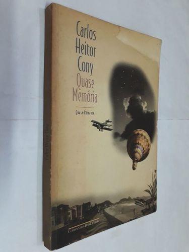 Livro Quase Memória: Quase-romance Carlos Heitor Cony