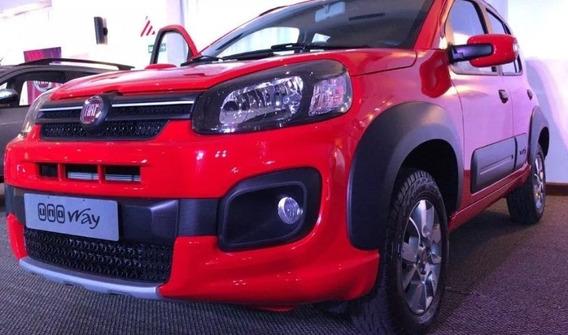 Fiat Uno Way 2020 0km - Anticipo Minimo $79.000 L