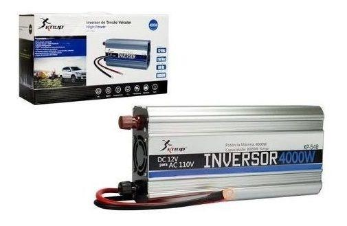 Inversor Automotivo Veicular 4000w 24v 110v Envio Imediato