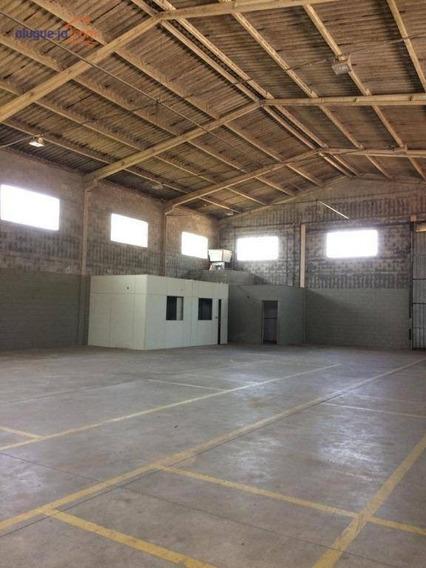 Galpão Para Alugar, 450 M² Por R$ 7.000,00/mês - Palmeiras De São José - São José Dos Campos/sp - Ga0158