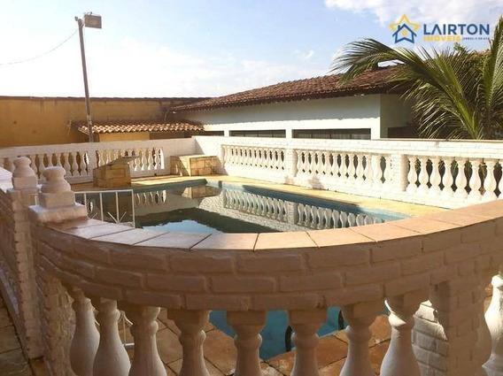 Ótima Casa Com 4 Quartos À Venda, 650 M² Por R$ 604 Mil Em Atibaia - Estuda Permuta. - Ca1988