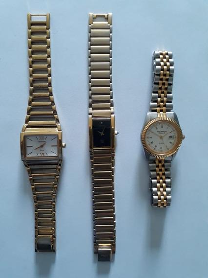 Relógio Technos Masc. Originais Lote 3 Unidades Usados