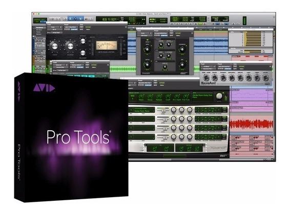 Pro Tools Hd 12 + Mega Pacotão Plugins - Envio Imediato