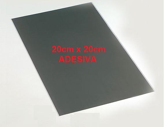 Película Polarizadora Linear Lcd Led 20cm X 20cm - Adesiva
