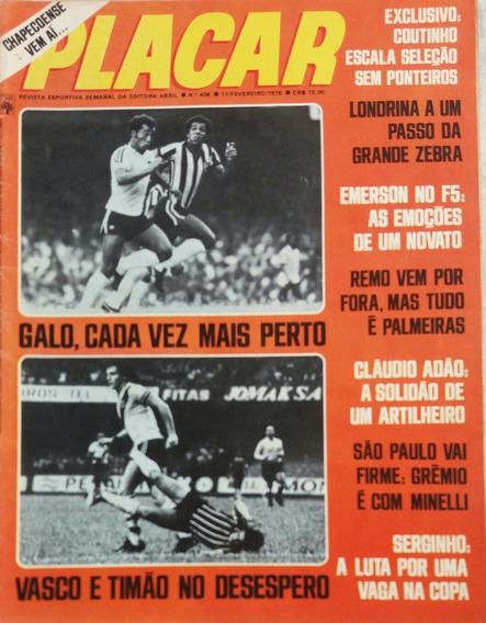 Revista Placar N ° 408 - 17.02.1978