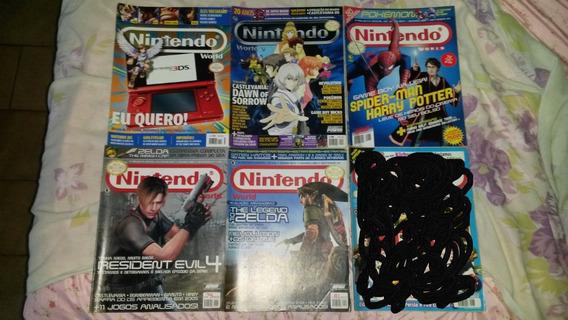 Revistas Nintendo World - Edições Variadas